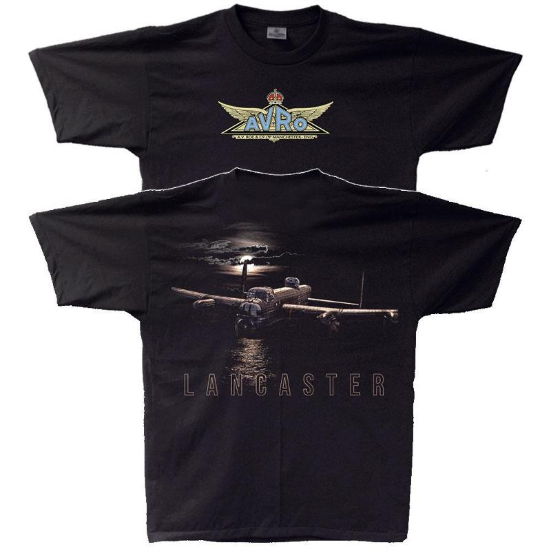 Product Photo of MOONLIGHT-LANC-2020 - Avro 'Moonlight Lancaster' T-Shirt