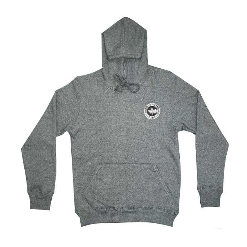 Product Photo of NANTUCKET-HOODIE-GREY - Nantucket Fleece Dark Grey Hoodie