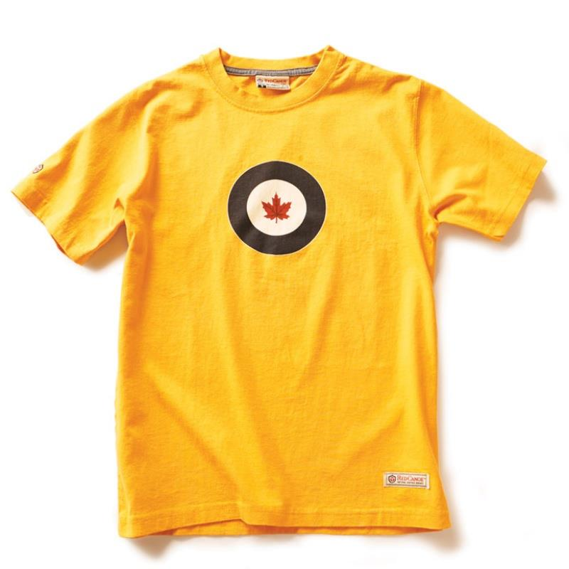 Product Photo of RCAF ROUNDEL DAX YELLOW - RCAF T-SHIRT, BURNT YELLOW