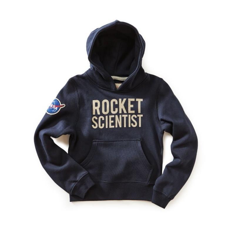 Product Photo of ROCKET-SCIENTIST-KIDS-HOODIE - NASA Rocket Scientist Kids Hoodie