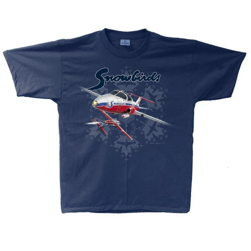 Product Photo of SNOWBIRDTSHIRT-navy-2021 - RCAF Snowbirds 50th Anniversary T-Shirt