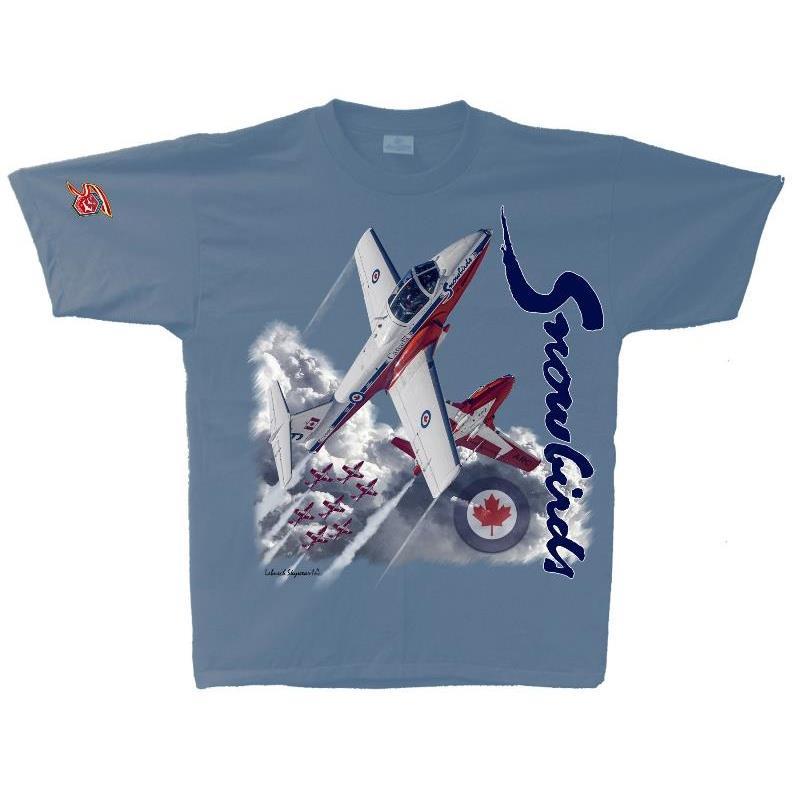 Product Photo of SNOWBIRDTSHIRT2021 - Snowbirds 50th Anniversary T-Shirt