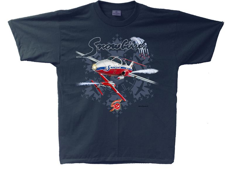 Product Photo of SNOWBIRDYOUTH2021 - Snowbirds 50th Anniversary Youth T-Shirt