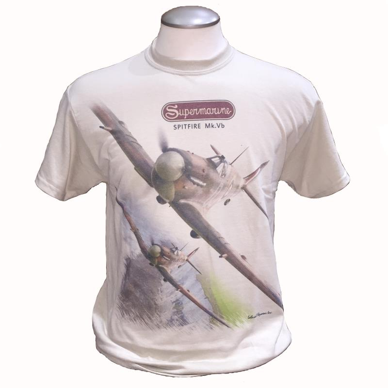 Product Photo of SPITFIREMKVB2017TSHIRT - Supermarine Spitfire Mk.VB T-Shirt
