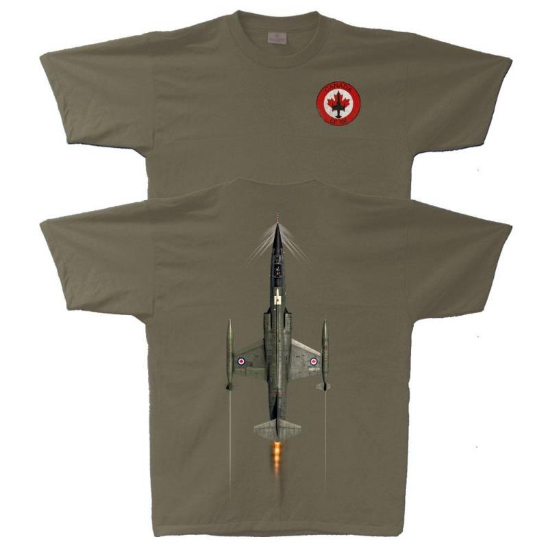 Product Photo of STARFIGHTER VERTICAL2021 - CF104 Starfighter Vertical TShirt