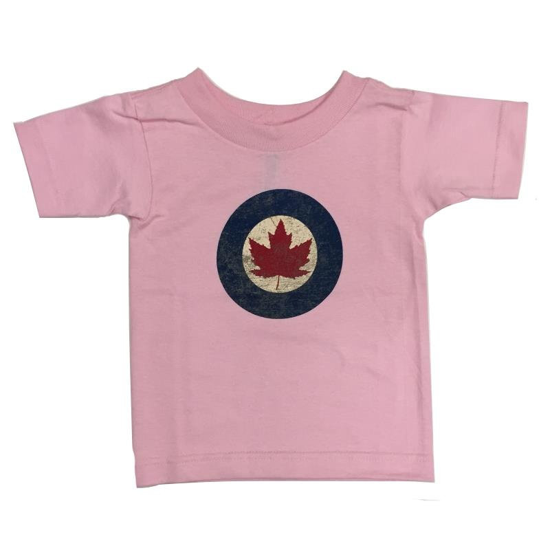 Product Photo of YOUTHRCAFPINK - Pink R.C.A.F. Roundel Toddler T-Shirt