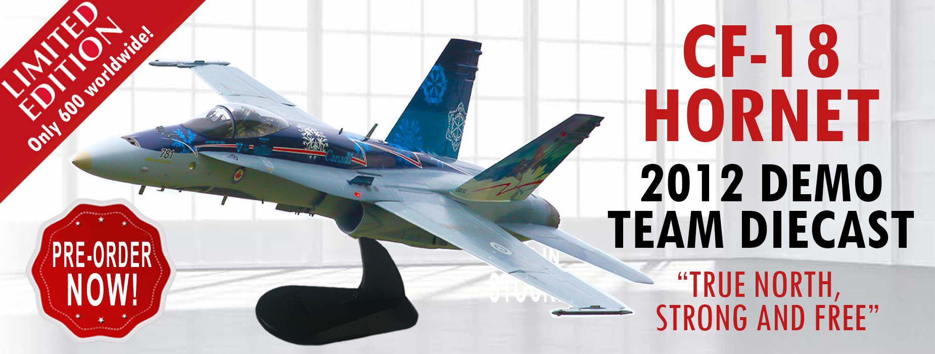 Poster for - CF-18 Diecast Pre-order