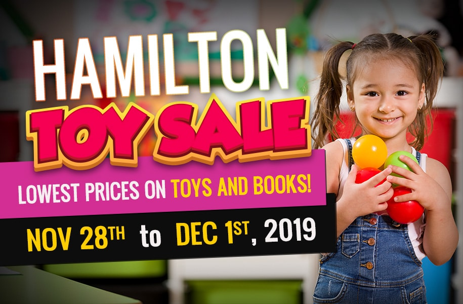 Banner Image for the Hamilton Toy Sale event