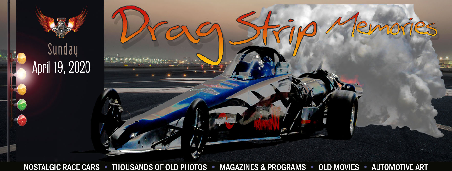 Banner Image for the Dragstrip Memories event