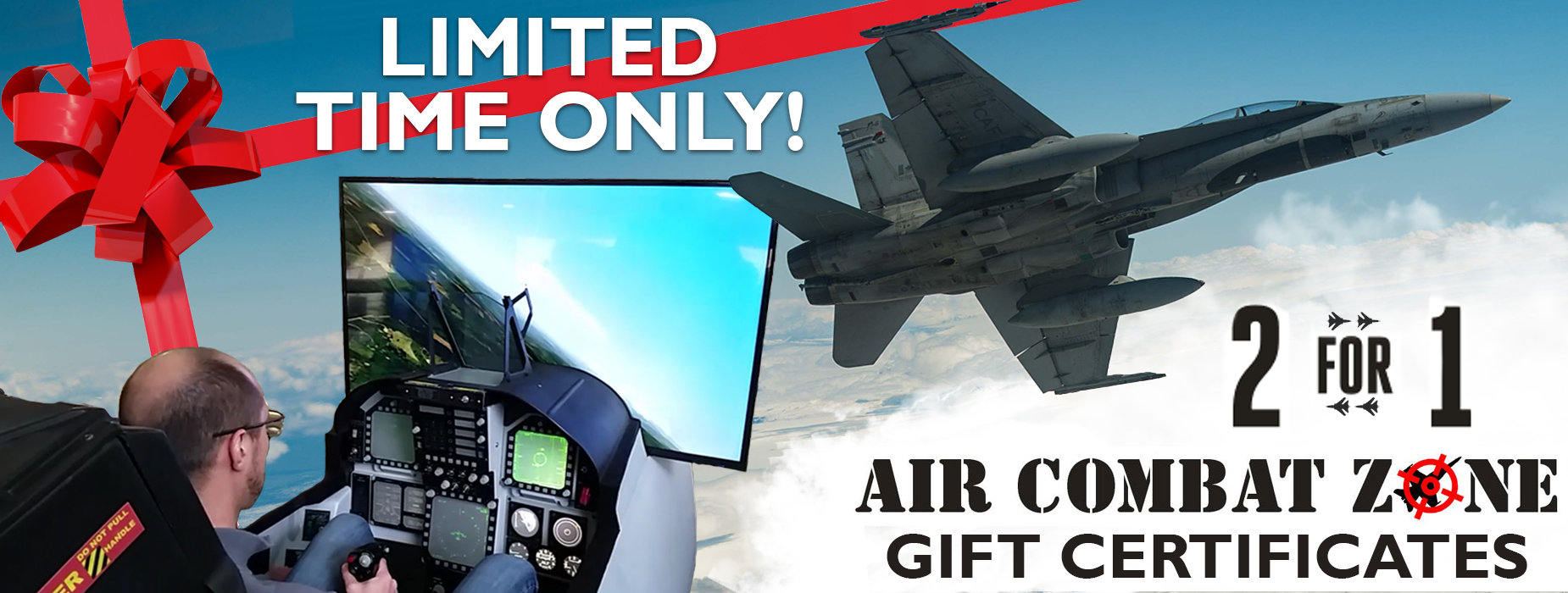 Poster for - Air Combat Zone - 2 for 1 Gift Certificates