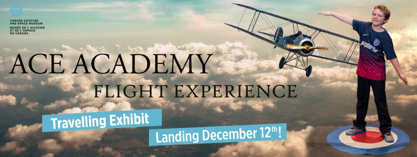 Poster for Ace Academy Flight Experience event