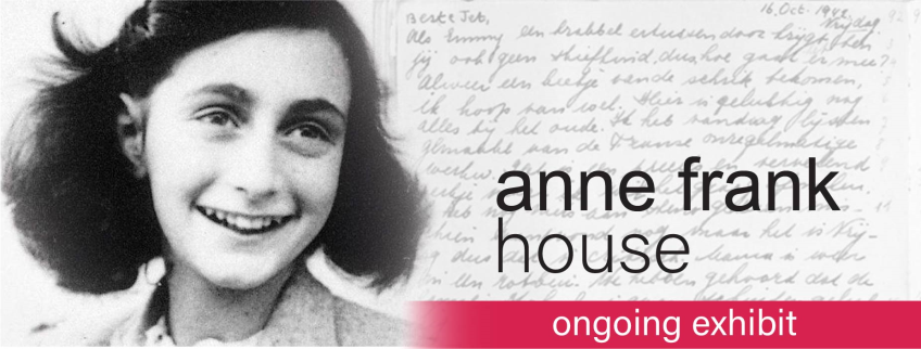 Poster for Anne Frank House event