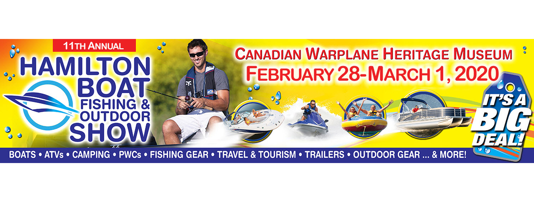 Banner Image for the Hamilton Boat Fishing & Outdoor Show event