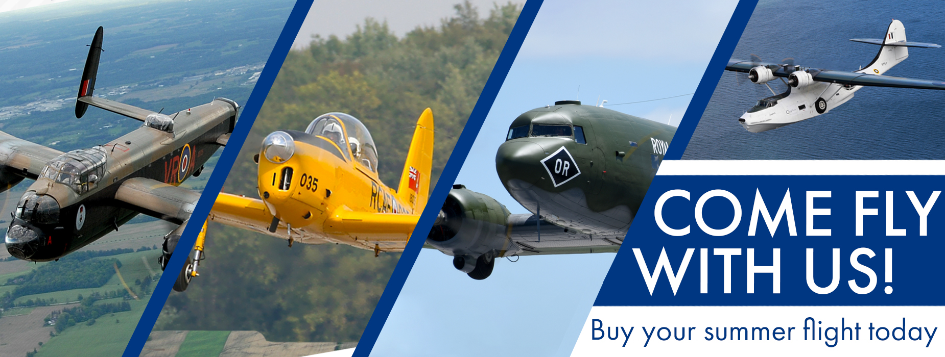 Poster for - Book your flight today!