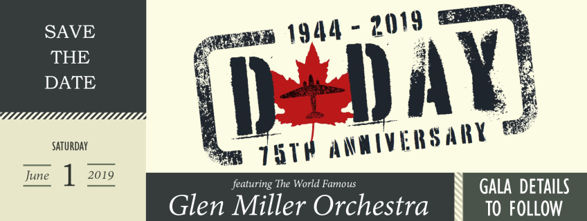 Poster for D-Day 75th Anniversary Gala event