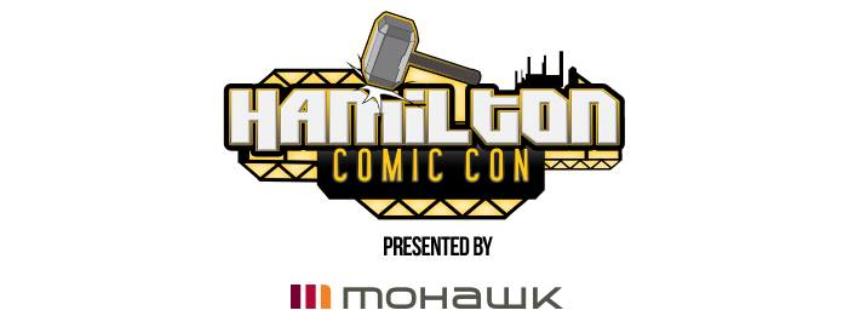 Poster for Hamilton Comic Con event
