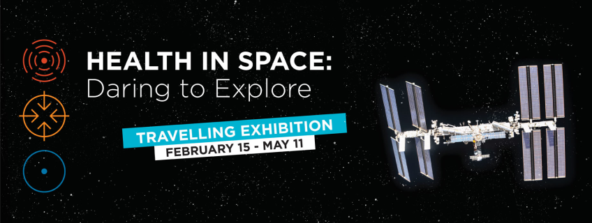 Poster for Health in Space event
