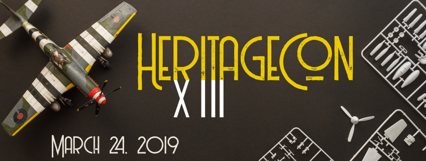 Poster for HeritageCon XIII event