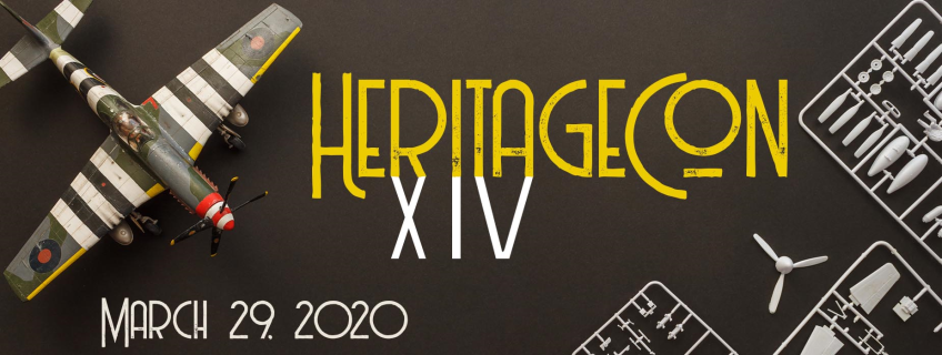 Poster for HeritageCon XIV event
