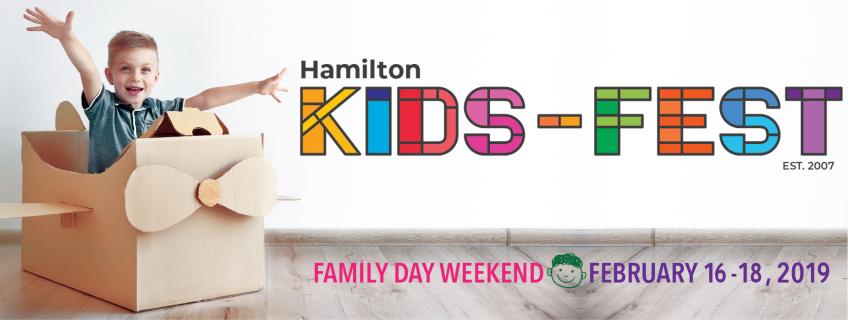 Poster for Hamilton Kids-Fest event