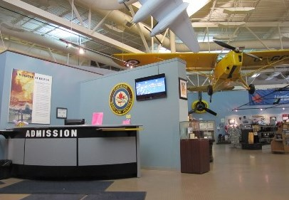 Canadian Warplane Heritage Entrance Photo