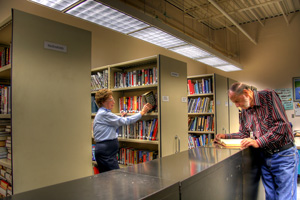 Photo of CWHM Research Library