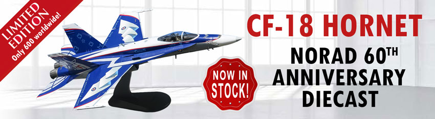 NORAD CF18 Now in Stock