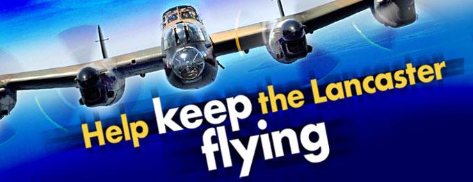Save Lancaster Warplane