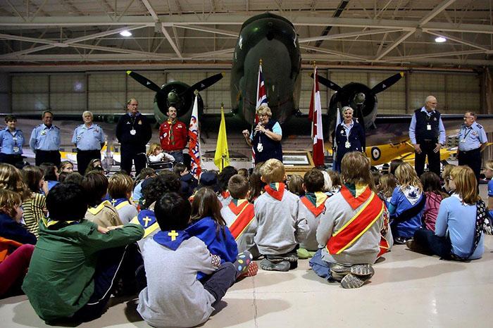 Sleepovers | Canadian Warplane Heritage Museum