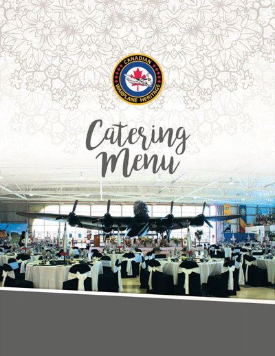 Canadian Warplane Heritage Museum, Catering Menu